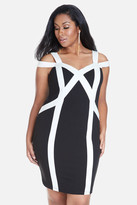 Fashion to Figure Toye Color Block Bodycon Dress