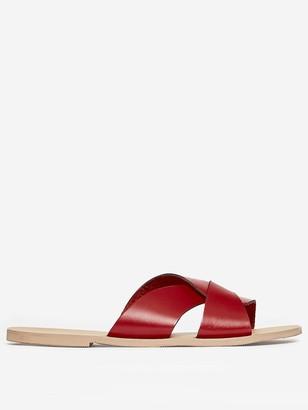 Dorothy Perkins Jetson Leather Slider - Red