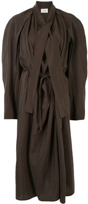 Lemaire Oversized Draped Dress