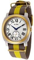A Line a_line Women's AL-80023-YG-SS-02GY Pyar Analog Display Japanese Quartz Two Tone Watch