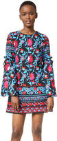 Tanya Taylor Embroidered Floral Irene Dress