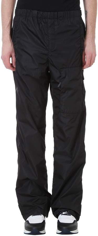 Givenchy Jogging Trousers In Black Nylon