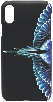 Marcelo Burlon County of Milan Wings print iPhone X/XS case
