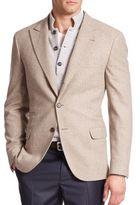 Brunello Cucinelli Tonal Wool-Blend Sportcoat