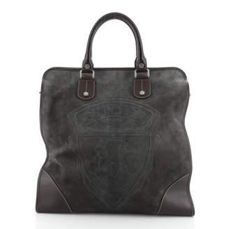 Gucci \N Grey Suede Handbags