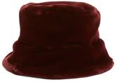 Dena Faux Fur Bucket Hat