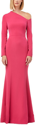 Kay Unger Solid Gown