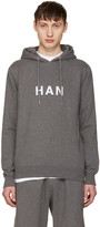 Han Kjobenhavn Grey Logo Hoodie