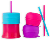 Boon SNUG 3-Pack Straw + Cups in Multiple Colors
