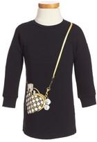 Little Marc Jacobs Girl's Trompe L'Oeil Sweatshirt Dress