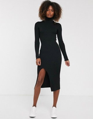 Y.A.S long sleeve roll neck dress