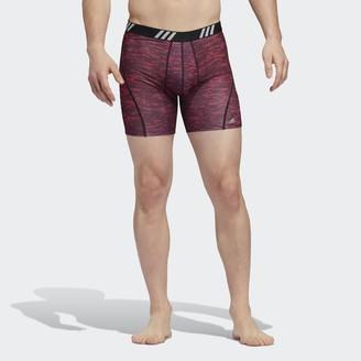 adidas Perforated Mesh Graphic Boxer Briefs 2 Pairs