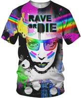alloverprint.it All Over 3D Print Rave Or Die Fashion Ladies T Shirt