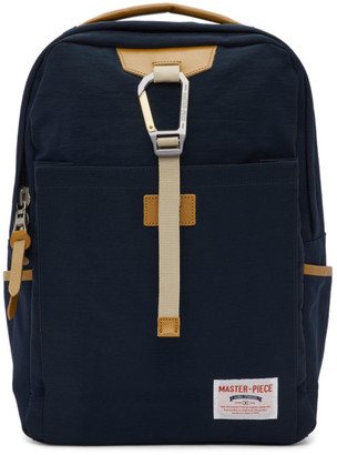 Master-piece Co Master Piece Co Navy Link Backpack