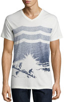 Sol Angeles Trailblazers V-Neck T-Shirt, White