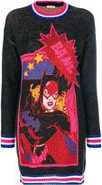 Iceberg Batwoman dress - women - Acrylic/Wool - S