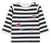 Jacadi Unisex Striped & Embroidered Tee - Baby