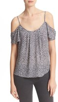 Joie Women's Adorlee Off The Shoulder Silk Top