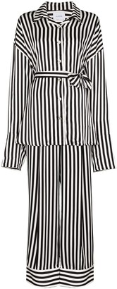 Sleeper Belted Striped Pyjamas