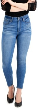 KENDALL + KYLIE Juniors' High-Rise Skinny Ankle Jeans