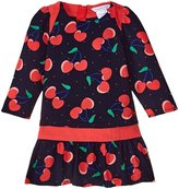 Little Marc Jacobs Cherry Printed Dress (Baby) - Blue/Red - 18 Months