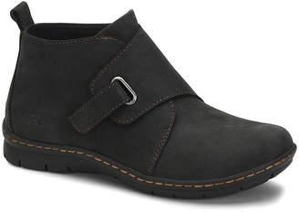 BC Women's Casual boots BLACK - Black Kington Nubuck Ankle Boot - Women
