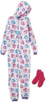 Jelli Fish Kids Fleece One-Piece Pajamas - Girls 4-16