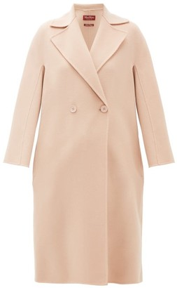 Max Mara Ode Coat - Womens - Light Pink