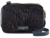 Liebeskind Berlin Maike Croc Embossed Leather Crossbody