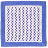 Tom Ford Floral Print Silk Pocket Square