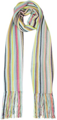 Missoni Striped Viscose Knit Scarf