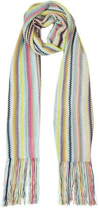 Missoni Striped Viscose Knit Scarf