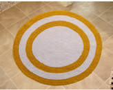 Saffron Fabs 100% Soft Cotton Reversible Two Tone Bath Rug