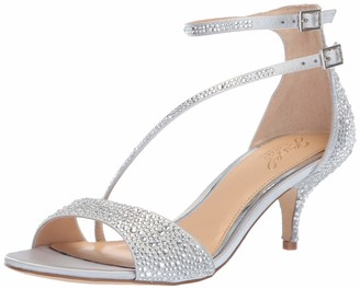 Badgley Mischka womens Tangerine Heeled Sandal