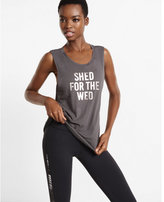 Express one eleven shed for the wed graphic tank