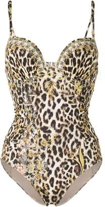Camilla Leopard Print Swimsuit