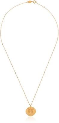 Anni Lu Love coin necklace