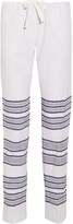Lemlem Tinish striped cotton-blend gauze straight-leg pants