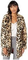 Apparis Margot Leopard Faux Fur Coat (Leopard) Women's Jacket