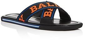 Bally Men's Bonks Crisscross Slide Sandals