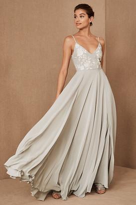 BHLDN Sadia Dress By in Grey Size 0