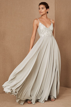 BHLDN Sadia Dress By in Grey Size 4