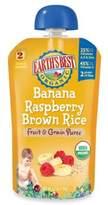 Earth's Best Organic 4.2 oz. Banana Raspberry Brown Rice Fruit & Grain Puree