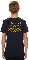 Swell Kids Boys Tee Blue
