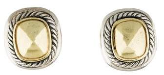 David Yurman Two-Tone Albion Earclips