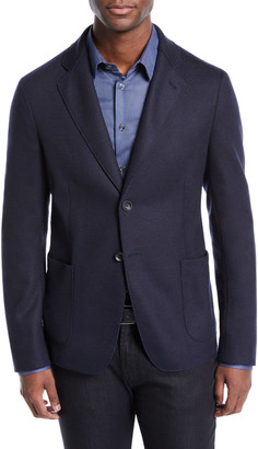 Giorgio Armani Men's Deconstructed Two-Button Jacket