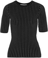 Jonathan Simkhai Ladasha textured stretch-knit top