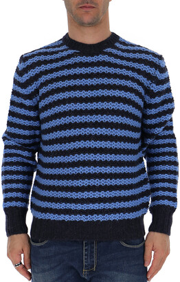 Prada Striped Knitted Sweater