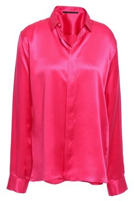 Haider Ackermann Silk-charmeuse Shirt