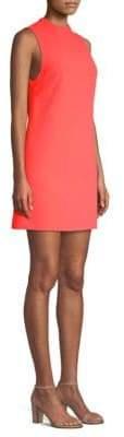 Alice + Olivia Coley Mockneck Shift Dress